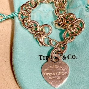 Tiffany and Co. return to Tiffany's heart bracelet